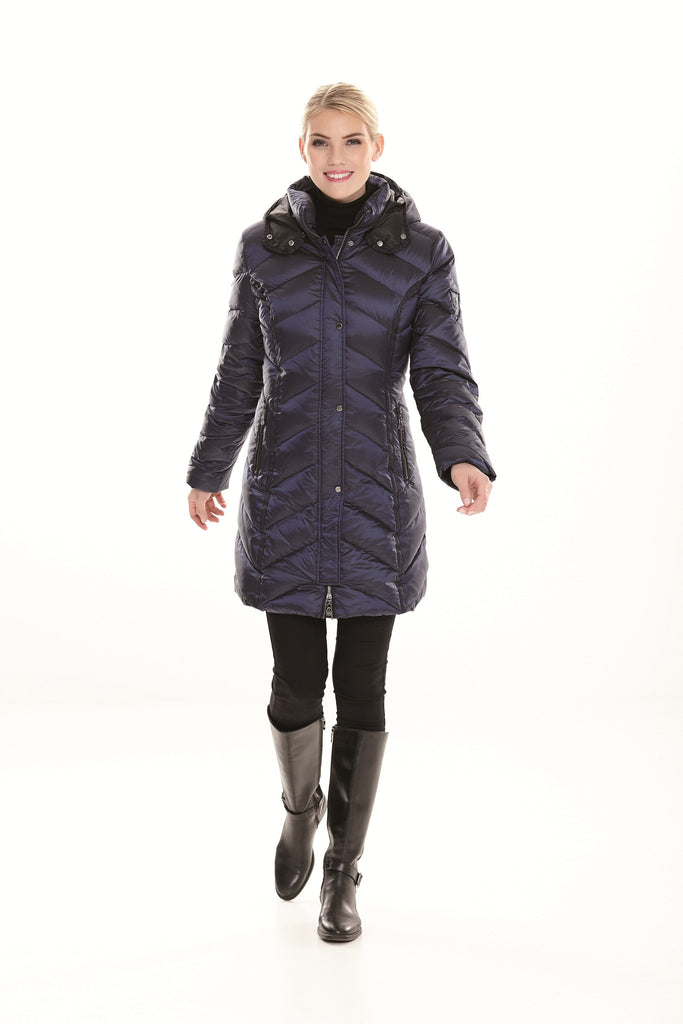 Metallic Down Quilted Jacket