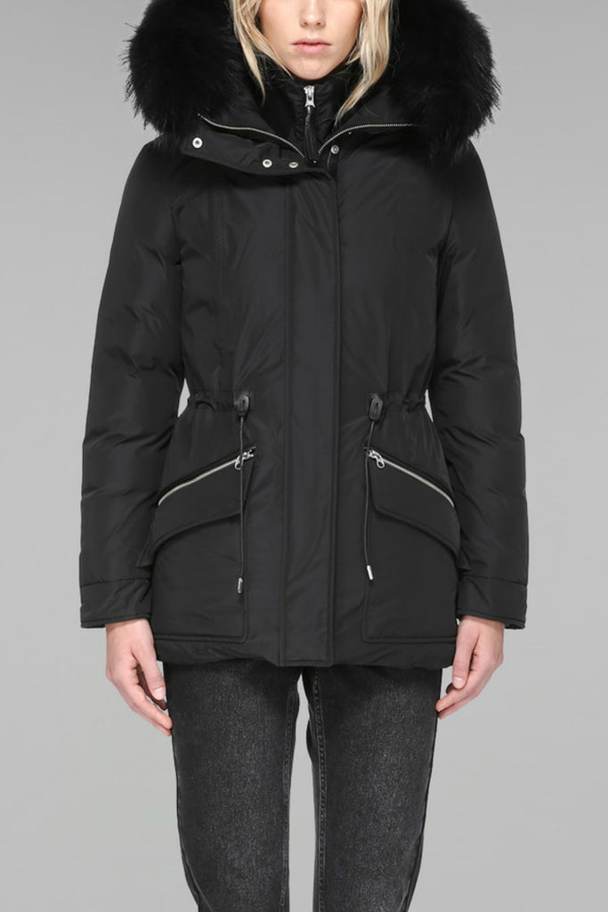 Katryn Hip Length Down Jacket