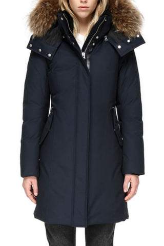 Kerry Winter Down Coat with Fur