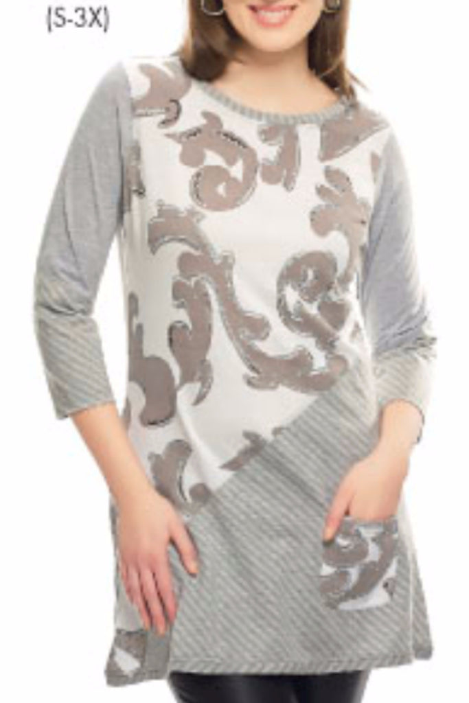 Maegan 3/4 Sleeve Tunic