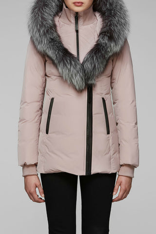 Adali-X Down Coat with Fur