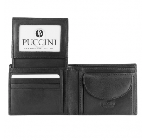 Mens Left Wing Wallet with Coin Pocket
