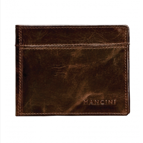 Mens Classic Billfold with Removable Passcase
