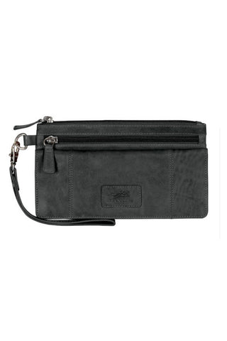 Ladies Wristlet Clutch Wallet