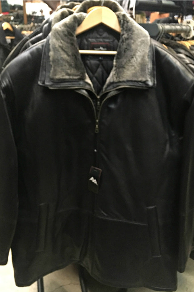 Black Ice Leather Jacket 5119