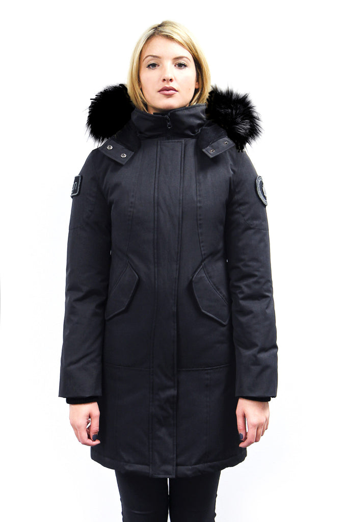 Vanessa Knee Length Down Jacket