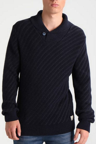 Glenn Shawl Neck Sweater