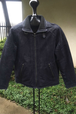 Austin Leather Coat