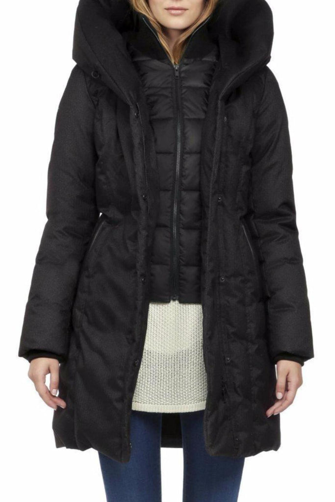 Camyl-F5 Hooded Down Coat