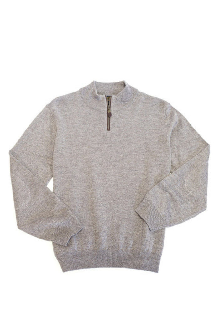 Viyella Long Sleeve Mock Neck Sweater