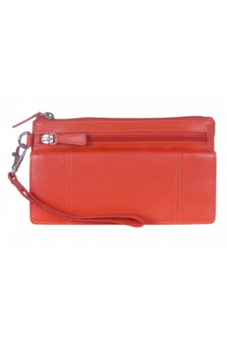 Ladies RFID Secure Wristlet Wallet