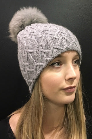Knit with Pearls Toque