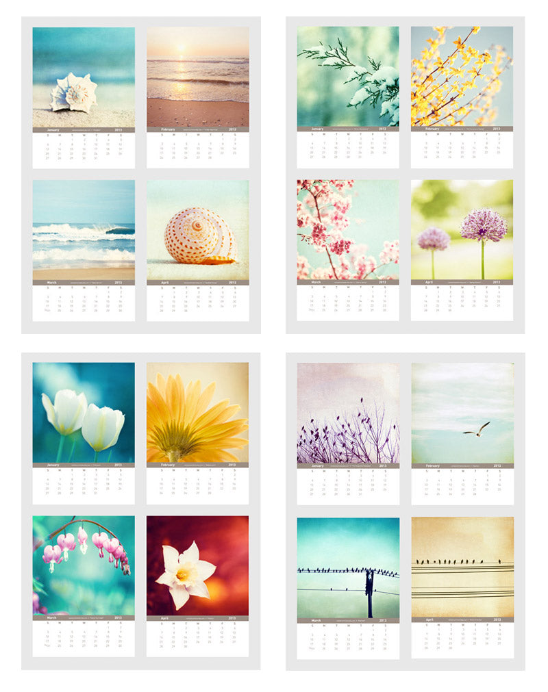 Beach, Nature Photography Calendars by carolyncochrane.com