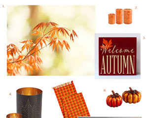Autumn Decorating by carolyncochrane.com