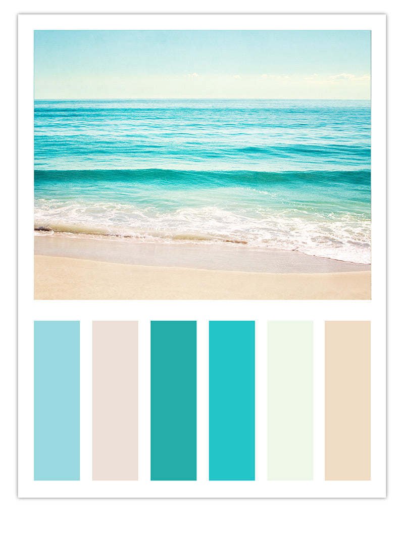 Turquoise Beach Color Scheme Carolyn Cochrane Photography