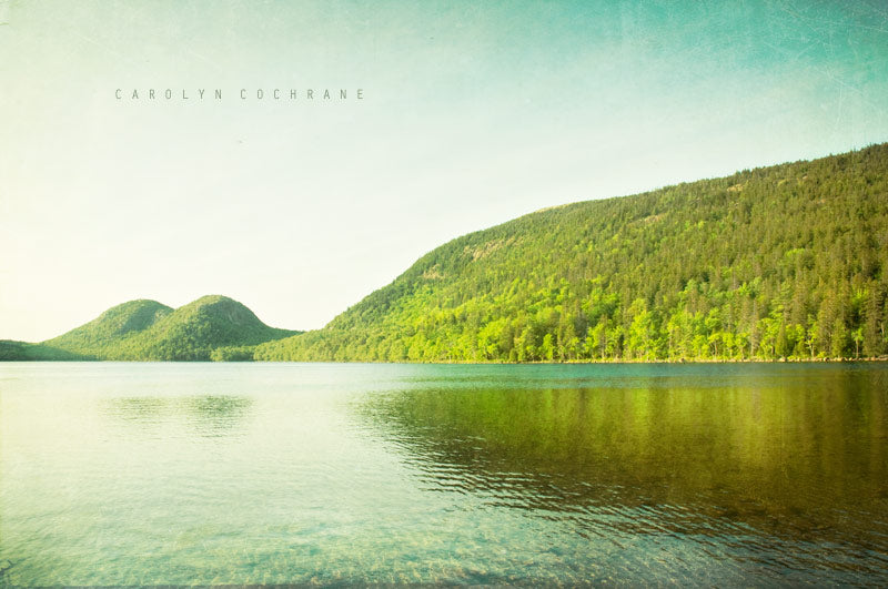 Jordan Pond, Maine Photography by carolyncochrane.com