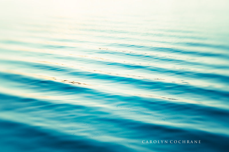 Blue Water Photography Print by carolyncochrane.com