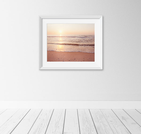 Ocean Sunrise Photography Print by carolyncochrane.com