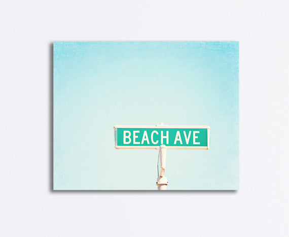 Beach Photography Wall Canvas Art by carolyncochrane.com