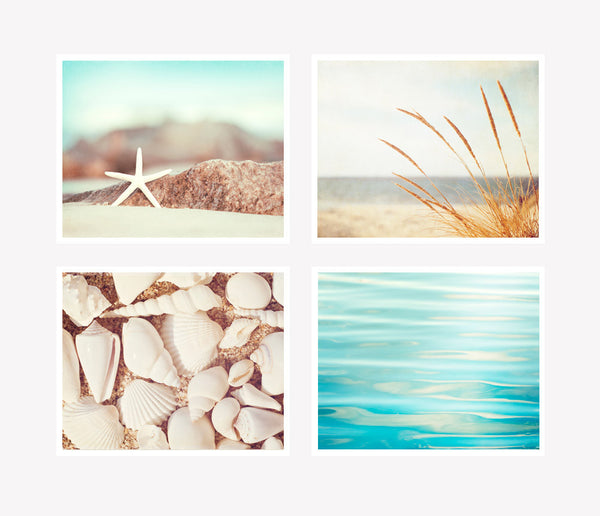 Coastal Photography Art Prints Set by carolyncochrane.com