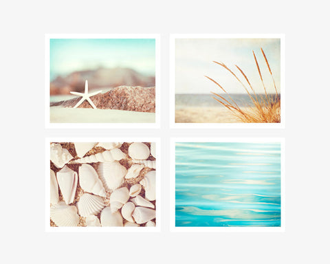 Coastal Photography Prints Set