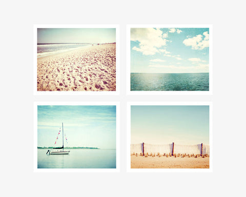 Beach Photography Prints Set by carolyncochrane.com