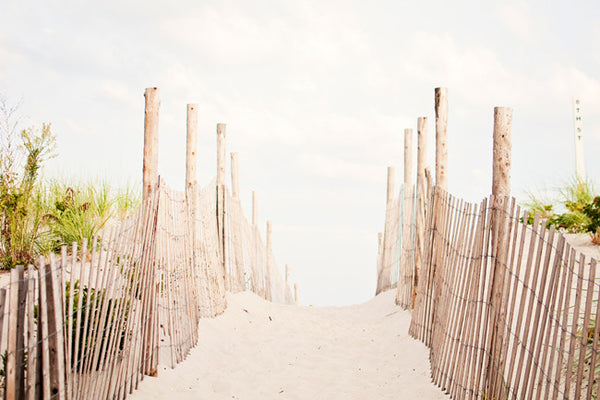 Beach Fence Photography Art by carolyncochrane.com