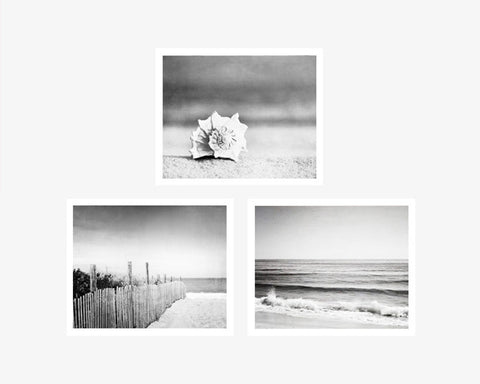 black and white artwork for bathroom all tagged quot print sets quot carolyn cochrane photography 25097 | black white beach photographs large