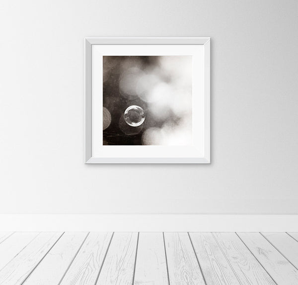 Bubble Photograph Print by carolyncochrane.com