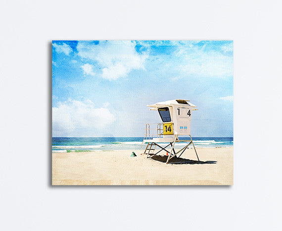 California Beach Photography Canvas Art by Carolyn Cochrane
