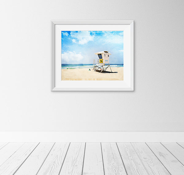 California Beach Photography Art by Carolyn Cochrane