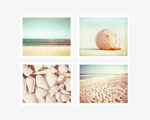Beach Photography Art Set by carolyncochrane.com