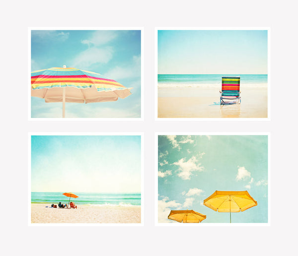 Colorful Beach Photography Art by carolyncochrane.com