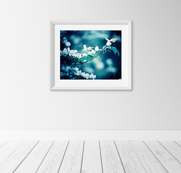 Dark Blue Nature Art Prints by carolyncochrane.com