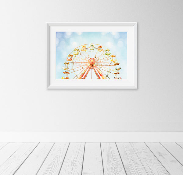 Ferris Wheel Art by carolyncochrane.com