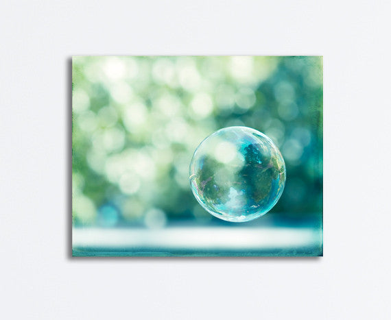 Bubble Photography Canvas Art by carolyncochrane.com