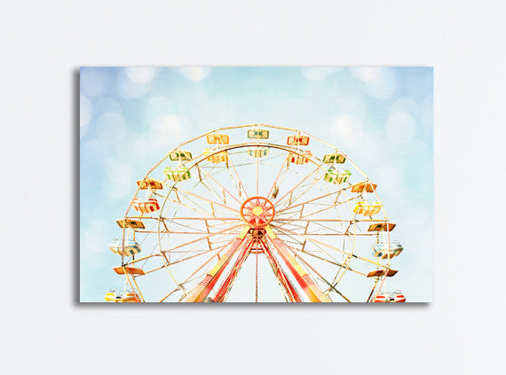 Ferris Wheel Canvas Art by carolyncochrane.com