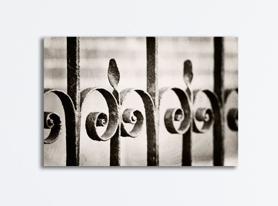 Neutral Gate Canvas Photography by carolyncochrane.com