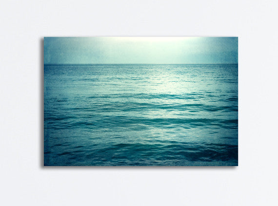 Dark Ocean Art Photography Canvas by carolyncochrane.com