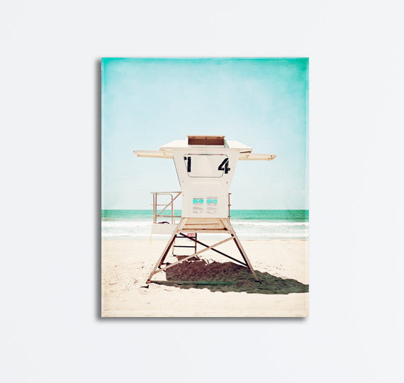Lifeguard Stand Beach Photography by carolyncochrane.com