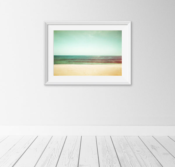 Mint Ocean Wall Art by carolyncochrane.com