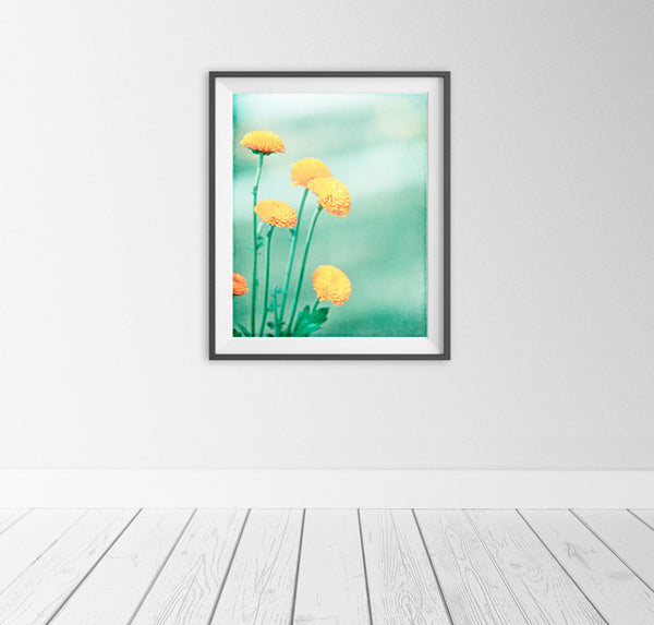 Mint Yellow Wall Decor by carolyncochrane.com