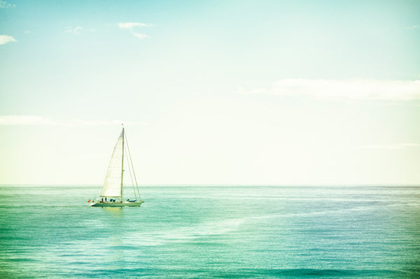 Sailboat Photography Art by carolyncochrane.com