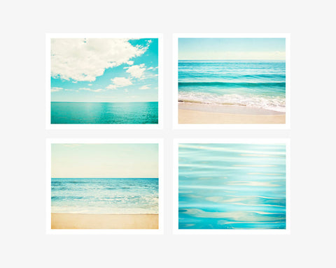 Turquoise Ocean Wall Art Set by carolyncochrane.com