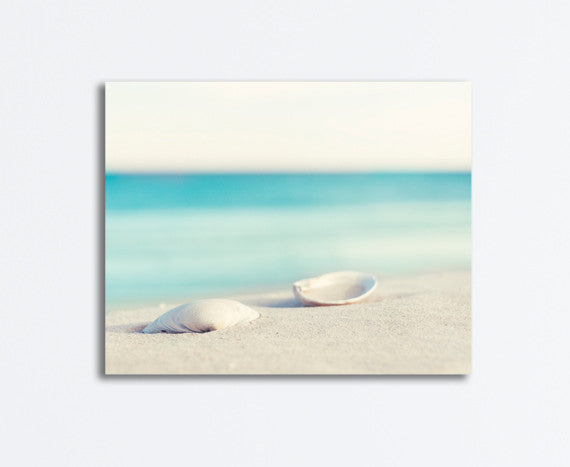 Seashell Beach Canvas by carolyncochrane.com