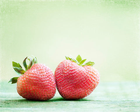 Strawberry Photography Art by carolyncochrane.com