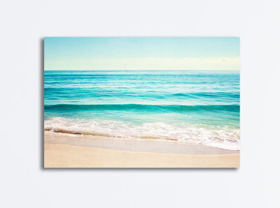 Ocean Photography Beach Canvas by carolyncochrane.com