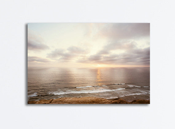 Neutral Ocean Canvas Photography by carolyncochrane.com