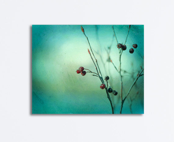 Teal Nature Canvas by carolyncochrane.com
