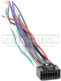 Wiring Harness, Kenwood 16-Pin Universal Harness - REVOLUTIONPRO
